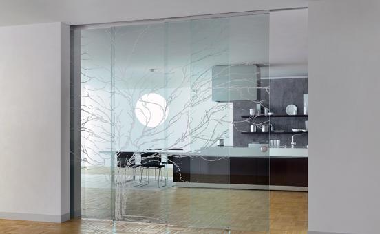 Come scegliere le porte interne: il cristallo