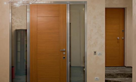 Come scegliere una porta blindata modello stealth casa finestra - Porta finestra blindata ...